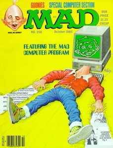 Mad Magazine Cover 1985