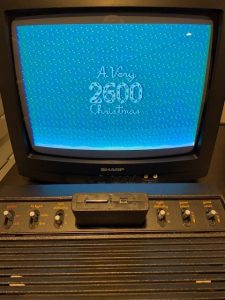 A Very 2600 Christmas on a 2600