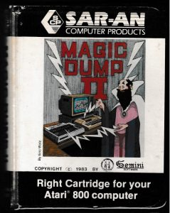 Magic Dump II Cartridge Case