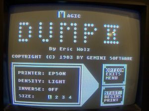 Magic Dump II Screen Shot