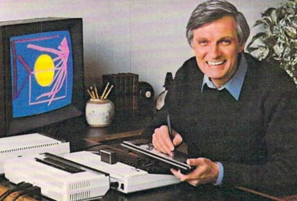 Alan Alda Touch Tablet Ad