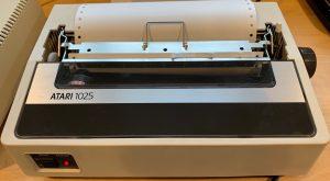 Atari 1025 Printer