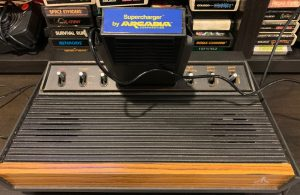Starpath Supercharger in Atari 2600