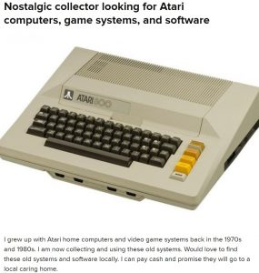 Local Atari Ad