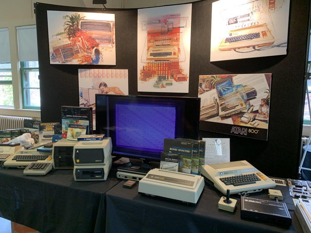 Atari 800 Display
