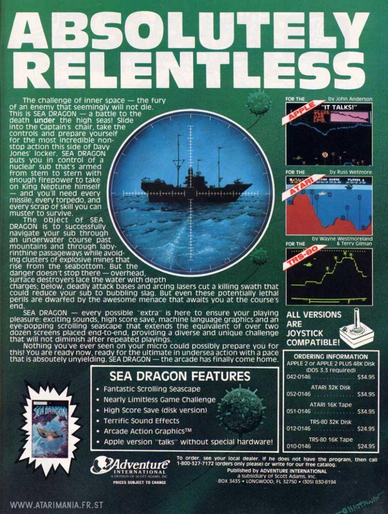 Sea Dragon Ad