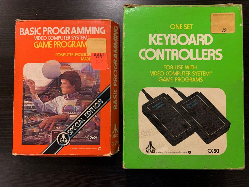 Boxes for BASIC and Keyboard Controllers