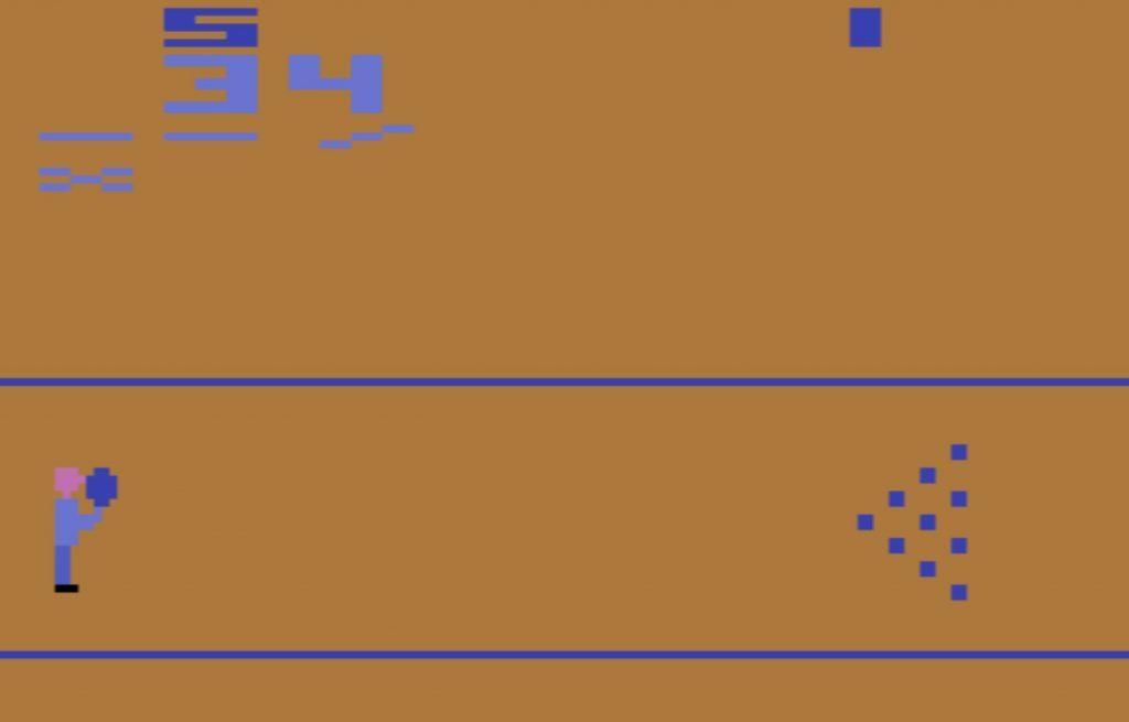 Atari 2600 Bowling