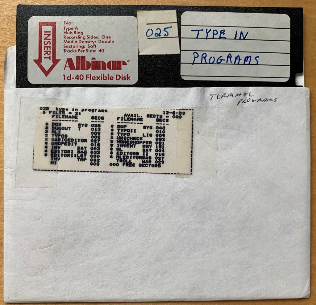 MLX Disk