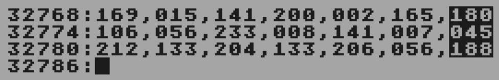 MLX data entry