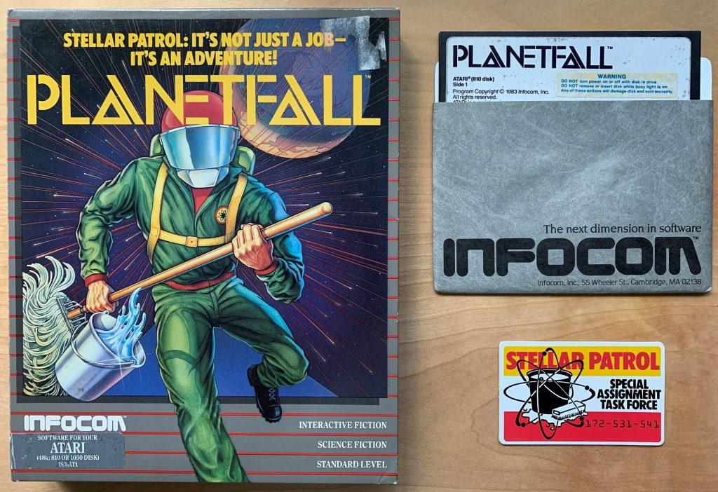 Planetfall Box and Disk
