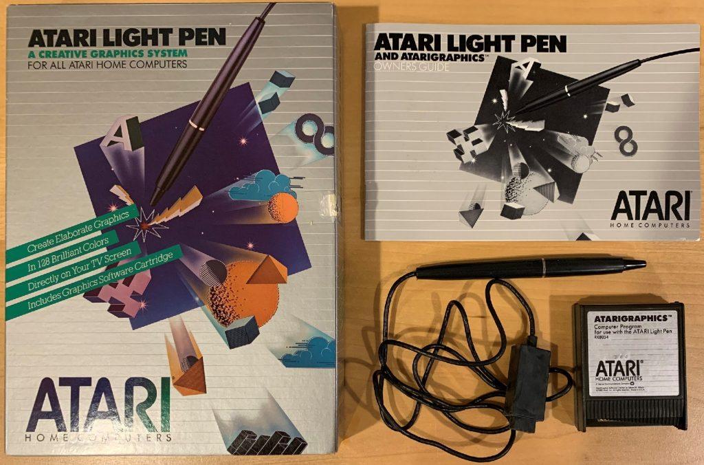 Atari Light Pen Set
