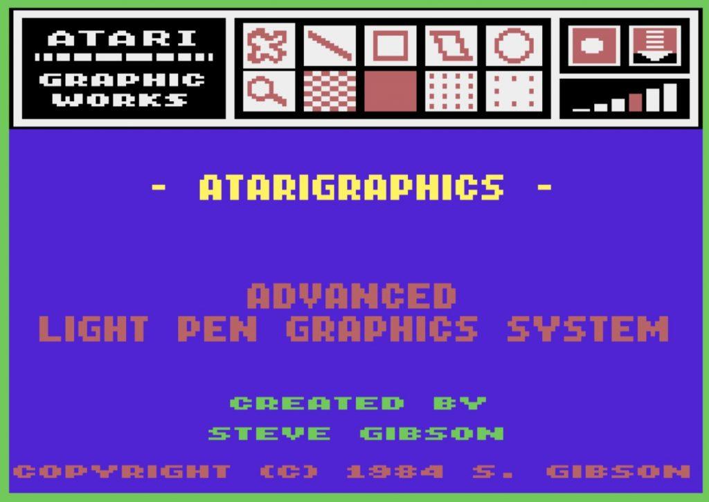 Atarigraphics Software