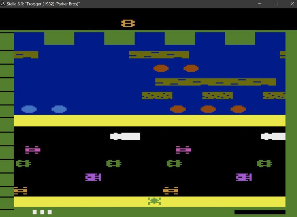 Frogger Atari 2600