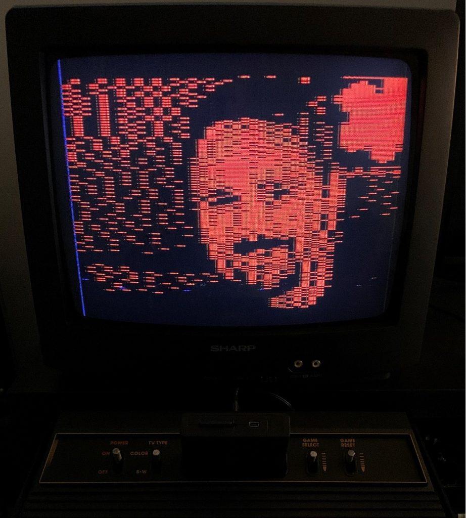 Dithertron Image on an Atari 2600