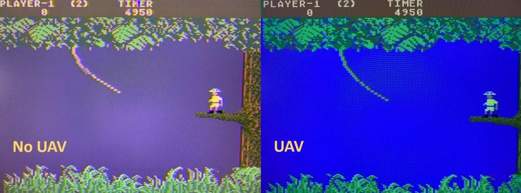 No UAV vs UAV Comparison with Jungle Hunt