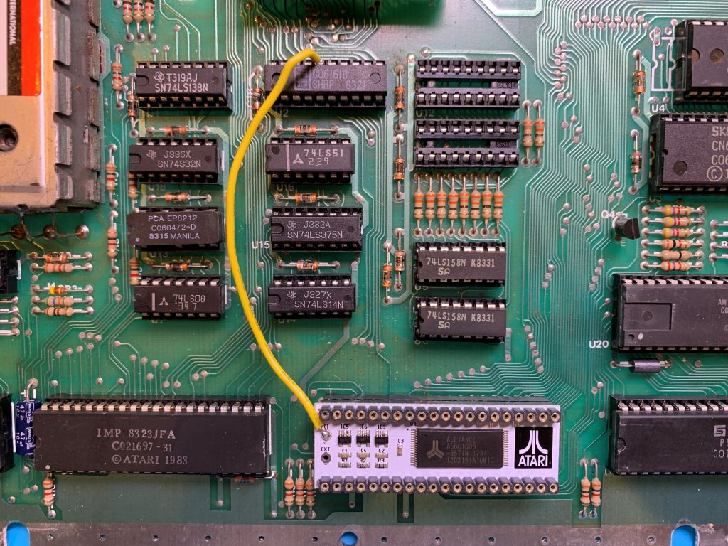 Wire Connecting 64K Board to MMU