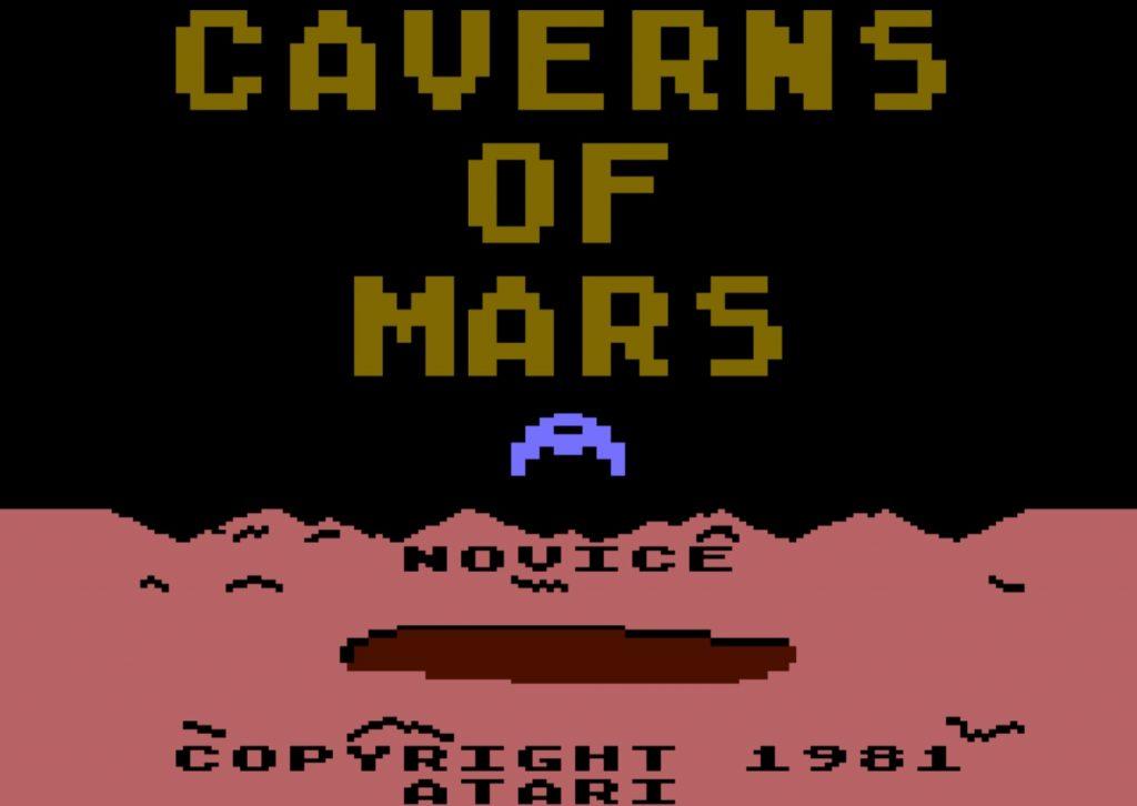 Caverns of Mars Title Screen