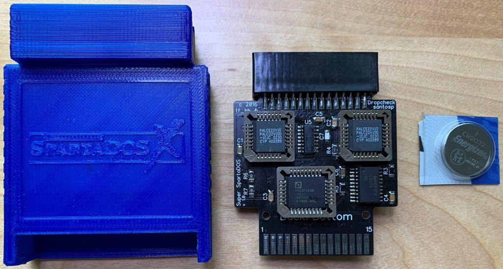 SpartaDOSX Cartridge Parts