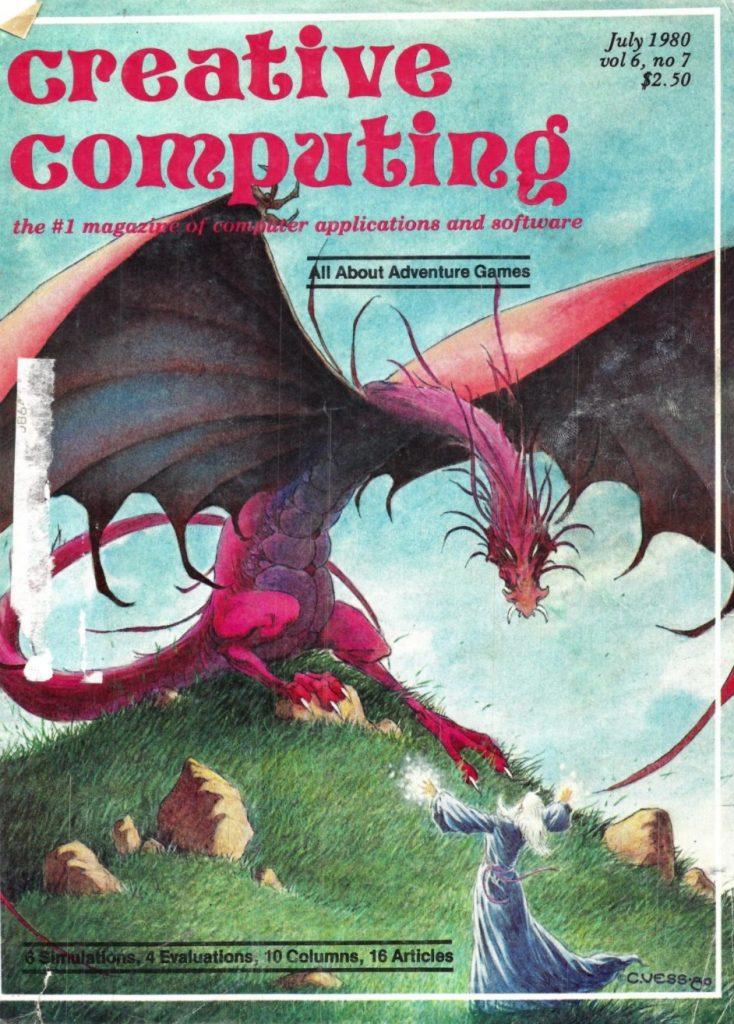 Creative Computing Cover July 1980