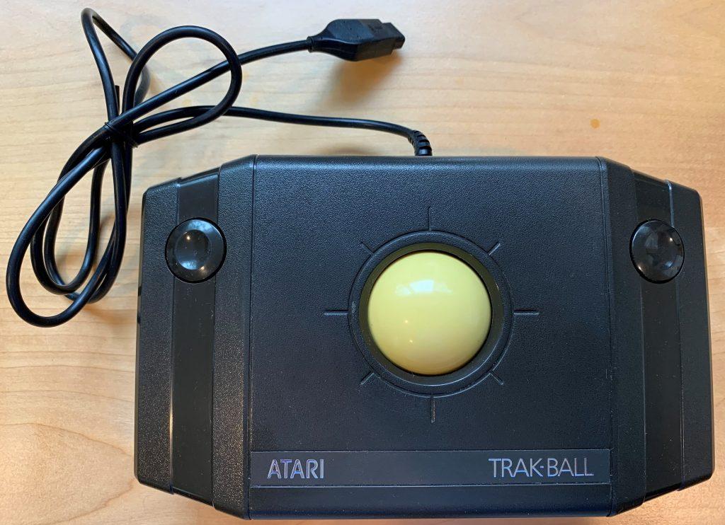 Atari Trak-Ball Controller CX-22