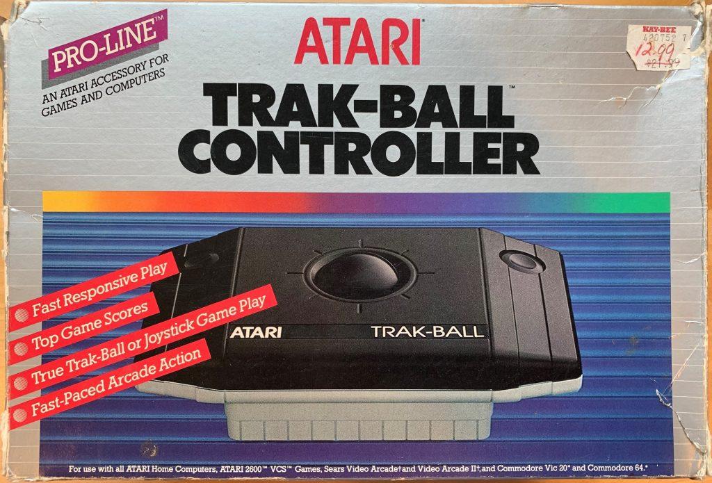 Atari Trak-Ball Controller CX-22 Box