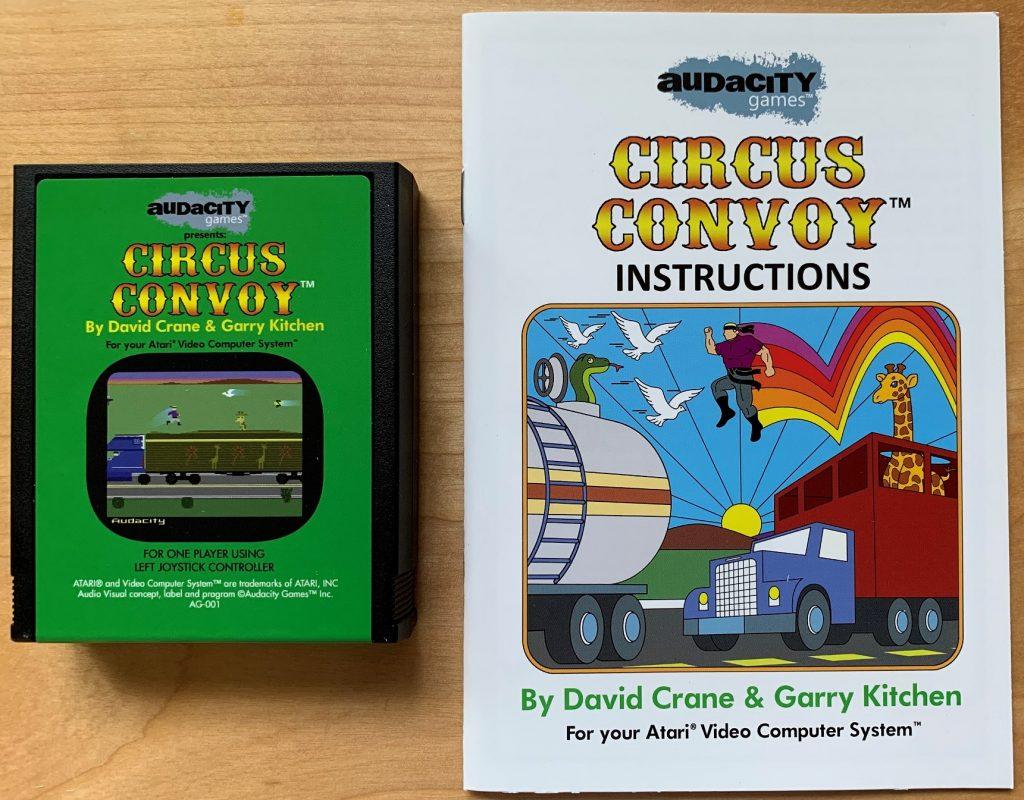 Circus Convoy Cartridge and Manual