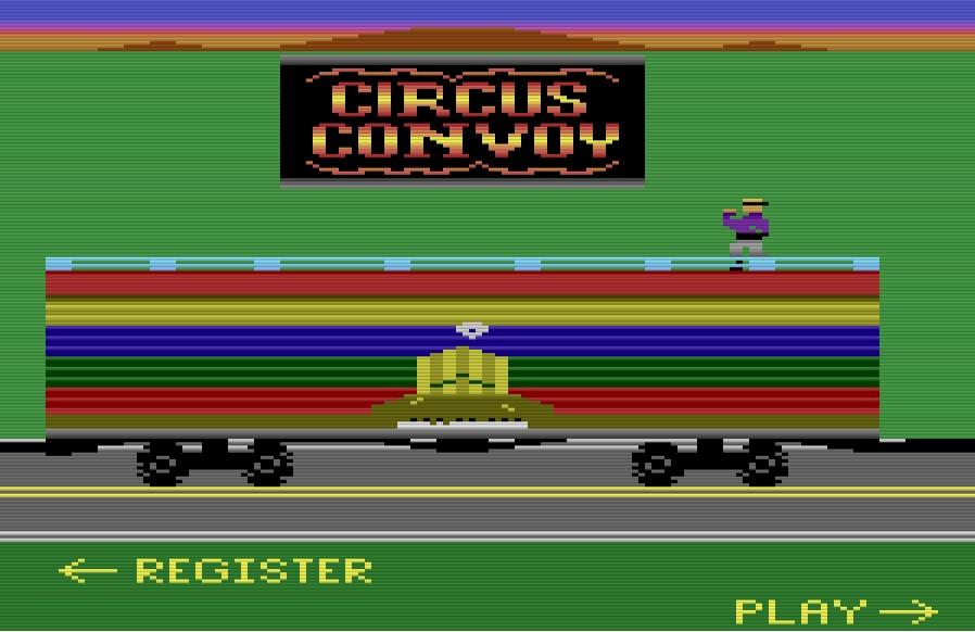 Circus Convoy Title Screen