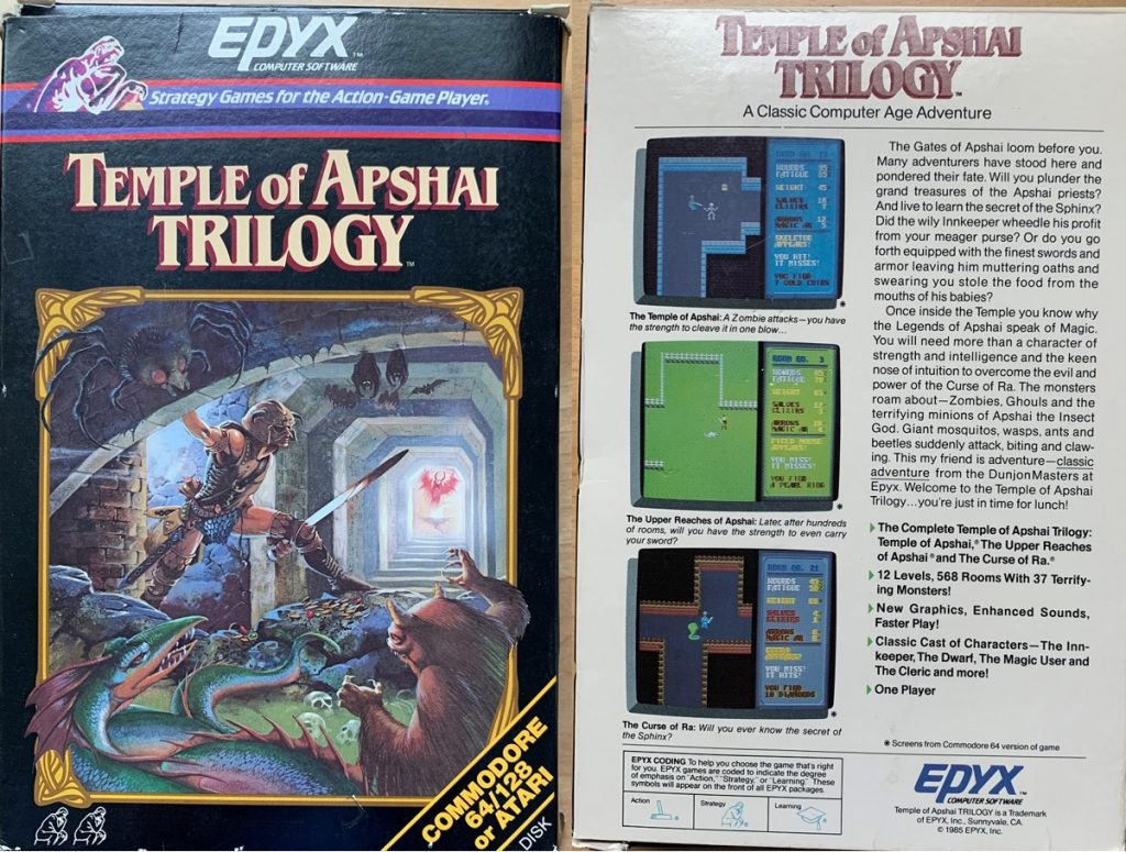 Temple of Apshai Trilogy Box