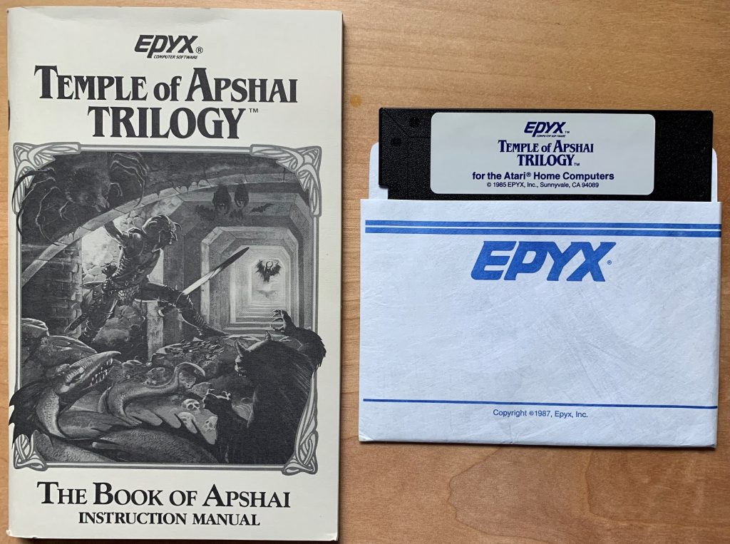 Temple of Apshai Trilogy Disk