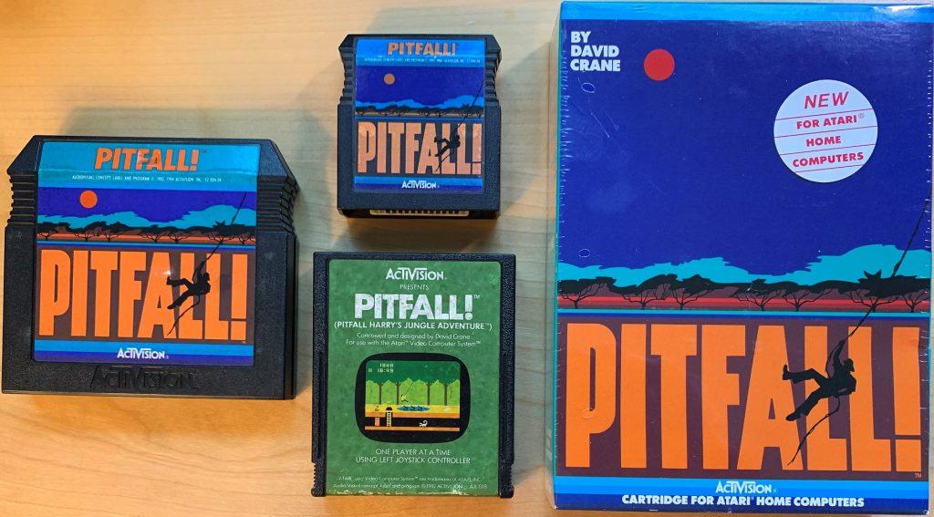Pitfall! Cartridges for the Atari 2600, 5200, and 8-Bit Computers