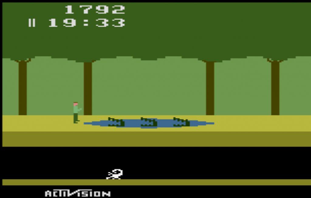 Pitfall! on the Atari 2600